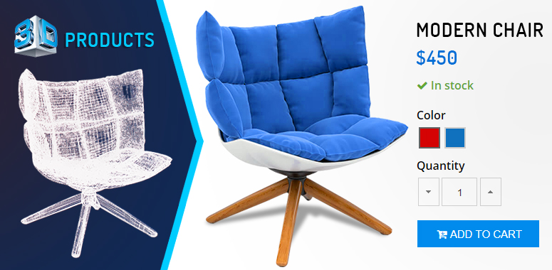 3d product images benefits in ecommerce business