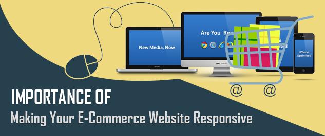 e commerce website responsive