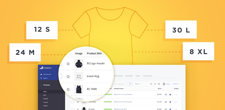 add products to the bigcommerce store