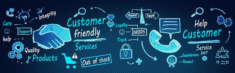 ecommerce help customers