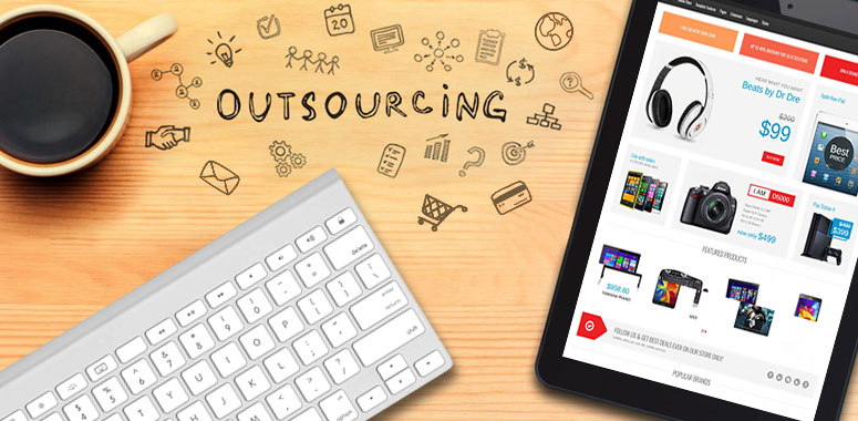 ecommerce outsourcing companies helps to increase sales