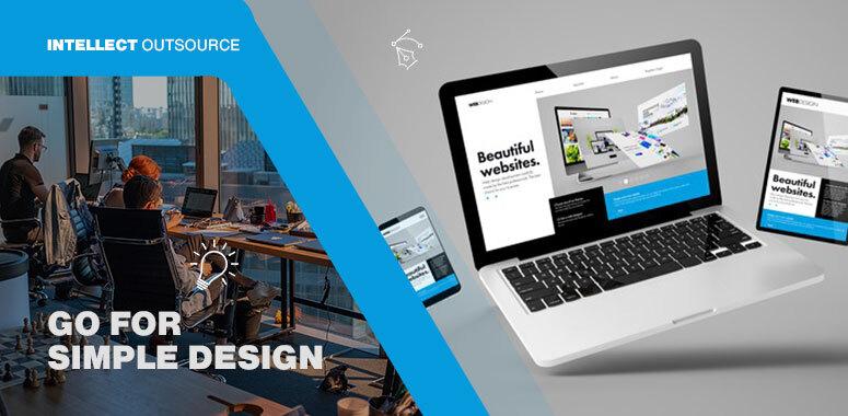 go for simple design