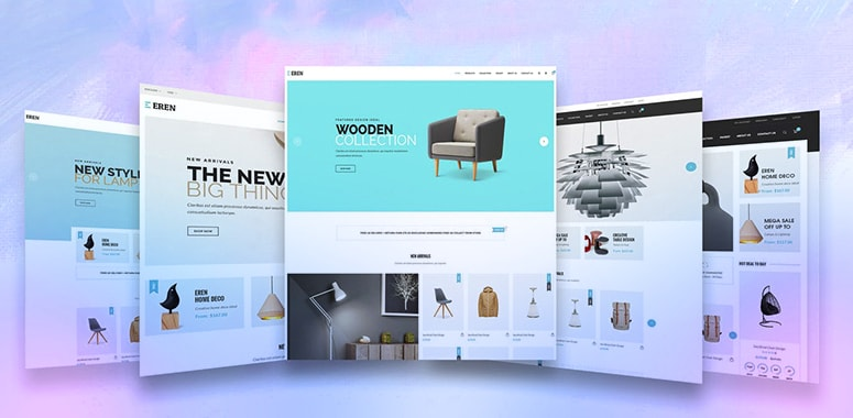 how attractive templates are helpful for ecommerce business