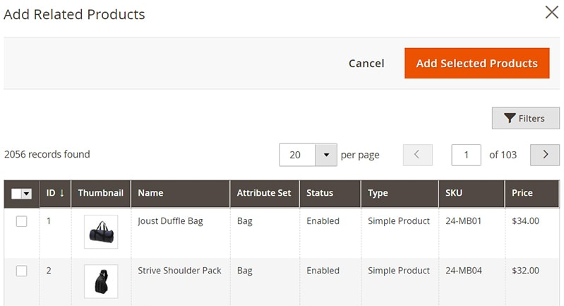 how create magento 2 simple products related products