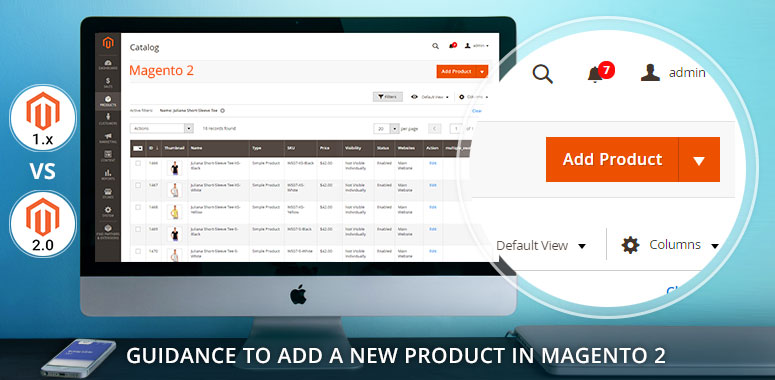 how to add products in magento 2 store