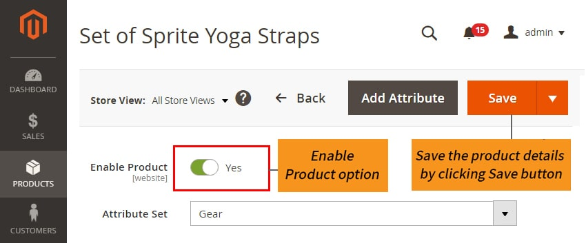 how to create bundle products in magento 2 enable product option and save
