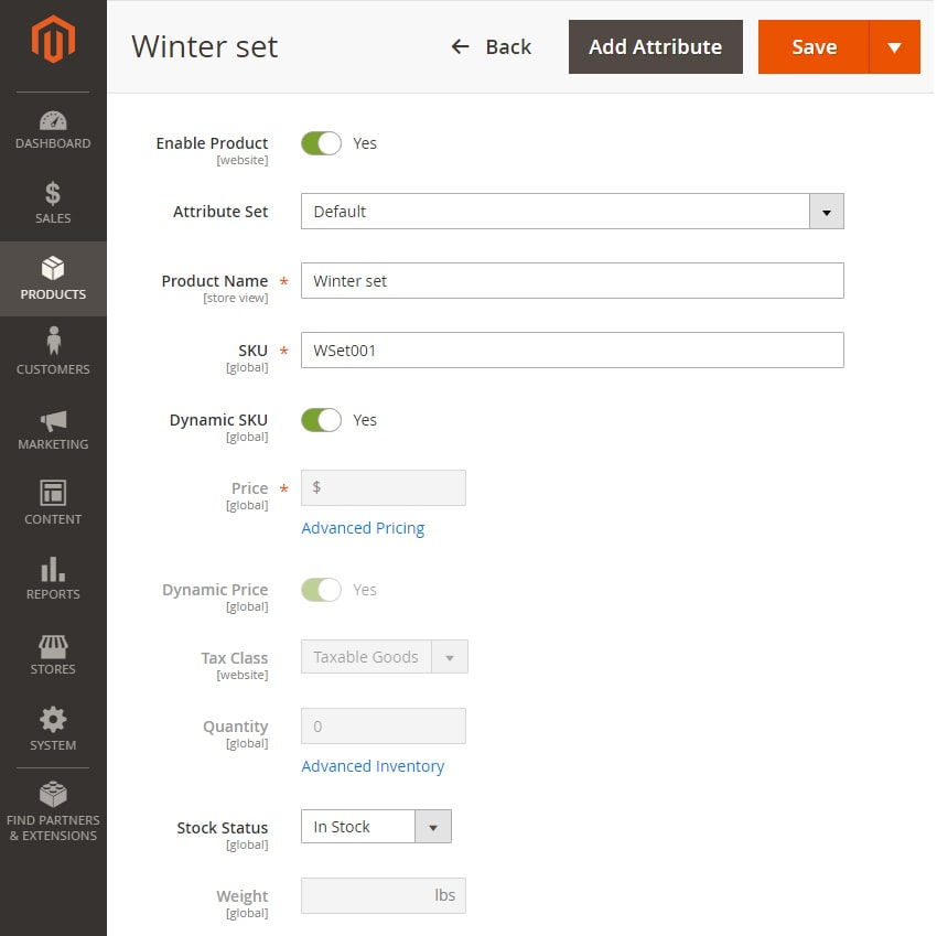 how to create bundle products in magento 2 product informations