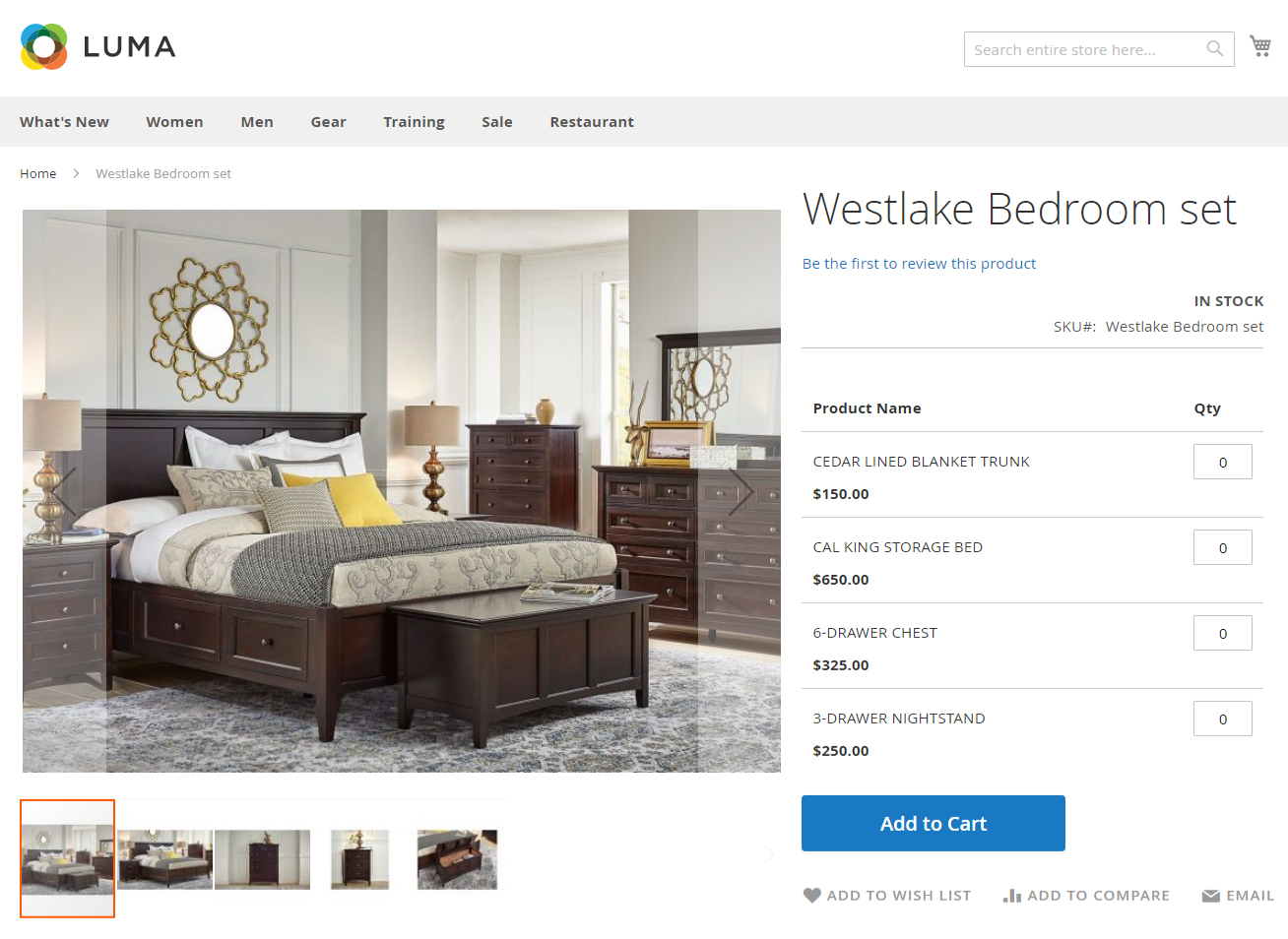 how to create magento 2 grouped product customer view bedroom set