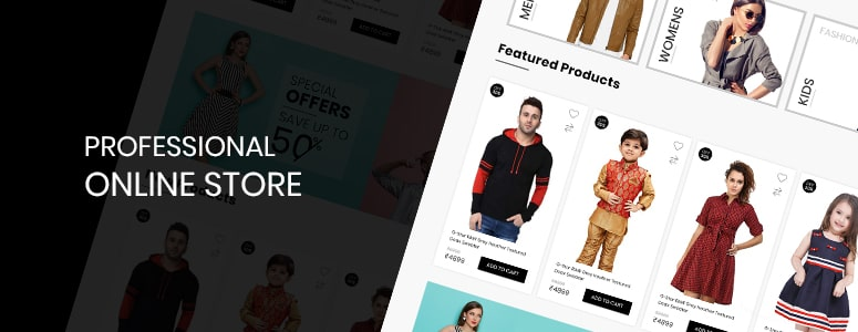 professional online store