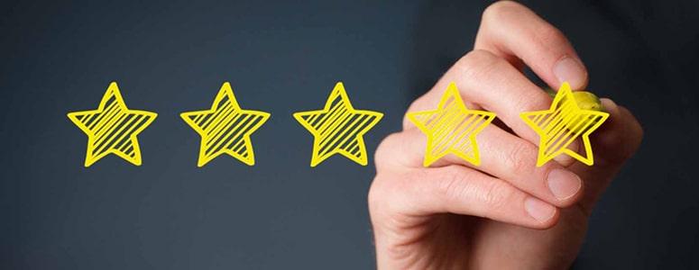 publish customer reviews and testimonials
