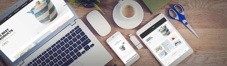responsive design for online shop