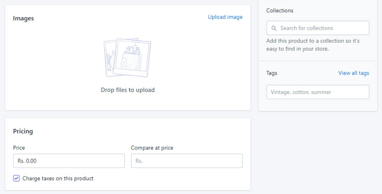 shopify category management