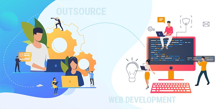 why you should outsource web development services