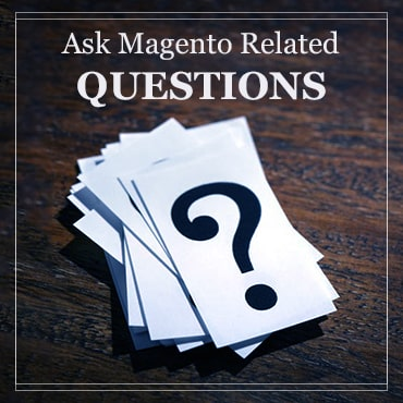 ask magento related questions