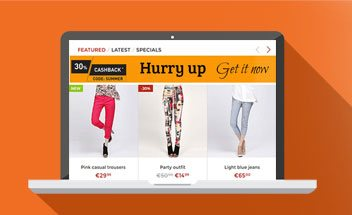 free magento2 sales banner for category