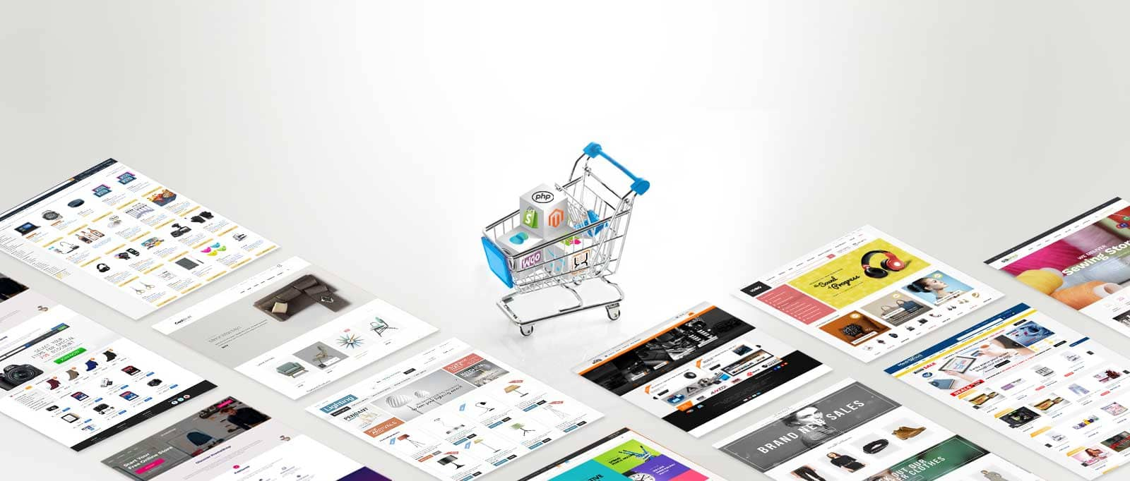 we support ecommerce
