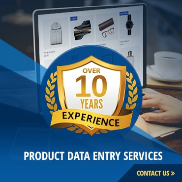 product data entry services