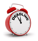 ecommerce deadlines and guidelines
