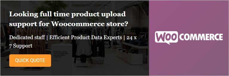outsource woocommerce product data entry