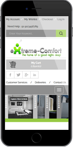 extremecomfortbeds responsive template