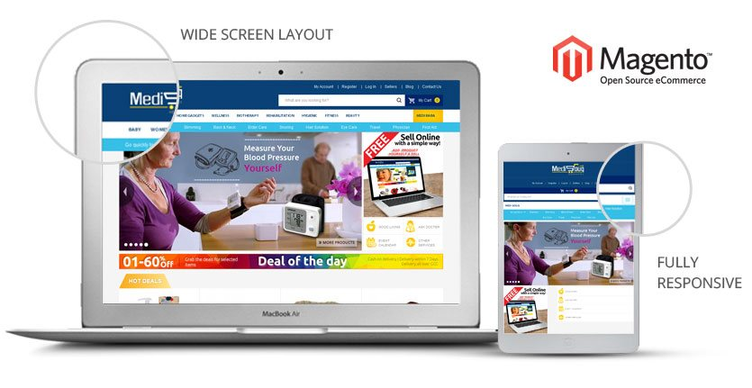 medisouq magento template