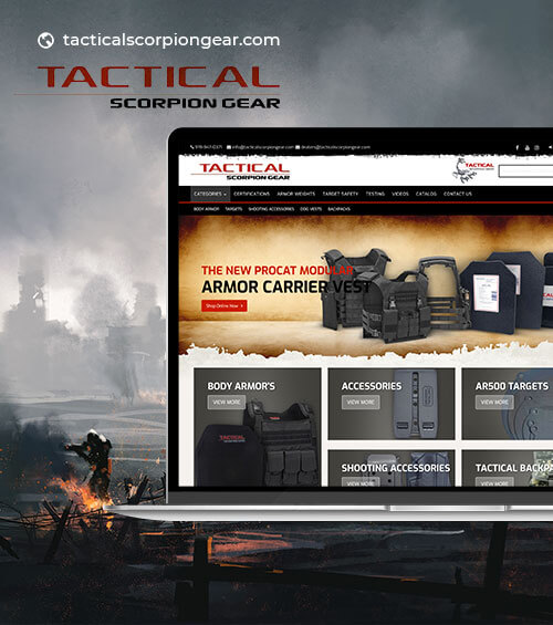 tactical scorpion gear index page