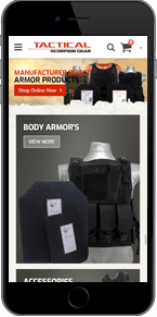 tactical scorpion gear responsive template